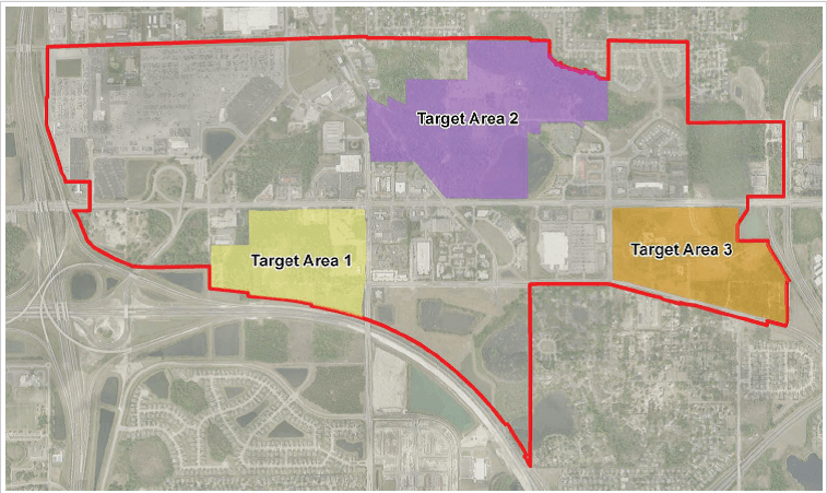 Target Area Map